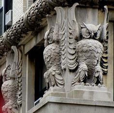 owls in the architecture | Flickr - Photo Sharing!