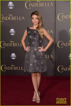 sarah hyland chloe bennet karen gillan are classy ladies 13 Sarah Hyland, Chloe Bennet, and Karen Gillan keep it classy as they hit the red carpet at the Cinderella premiere held at the El Capitan Theatre on Sunday (March…