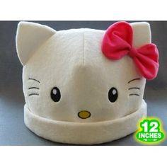 Hello kitty costume hat..