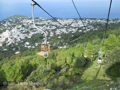 seggiovia anacapri monte solaro chairlift pinterest italy