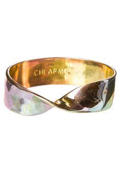 Cheap Monday - TWIST - Armband - goudkleurig