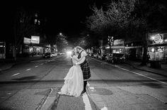 Kaye & Colin-2016- In the neighborhood. #Greenwood #phinneywood #urbanlightstudios #seattle #seattlewedding  #weddingphotographer