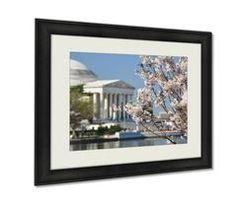 Framed Prints Spring In Washington Dc Cherry Blossom Festival At Jefferson Memorial Wall Art Decor #framedprint #wallframeprint #wallhanging #homedecor #homewallart #wallart #homedecoration