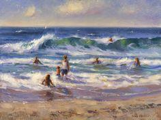 Beach Day by Tony D'Amico Oil ~ 12 x 16