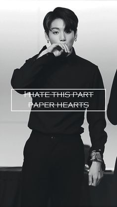 "BTS || Jungkook ""Paper hearts"" wallpaper for phone"