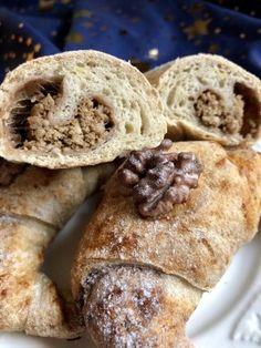 Rumos-diós puffancs és kifli Szafi lisztekből - Kelt tészták - Gluténmentes övezet - blog Fitt, Bread, Cookies, Desserts, Blog, Crack Crackers, Tailgate Desserts, Deserts, Brot
