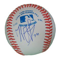 LA Dodgers Kenley Jansen signed Rawlings ROLB leather baseball w/ proof photo.  Proof photo of Kenley signing will be included with your purchase along with a COA issued from Southwestconnection-Memorabilia, guaranteeing the item to pass authentication services from PSA/DNA or JSA. Free USPS shipping. www.AutographedwithProof.com is your one stop for autographed collectibles from Los Angeles sports teams. Check back with us often, as we are always obtaining new items.