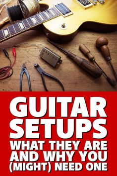 Don't know what a guitar setup is? This article will explain what it is, the process, and why it's so vital to making your guitar play and sound its best. Guitar Diy, Guitar Shop, Guitar Songs, Guitar Tabs, Guitar Chords, Cool Guitar, Acoustic Guitar, Ukulele, Guitar Strumming