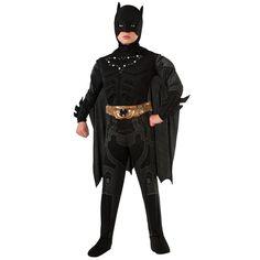 The Dark Knight Rises Batman Light-Up Costume - Kids, Boy's, Size: 12-14, Black