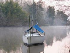 Daniel Bond En la foto el Susurro nuestro velero