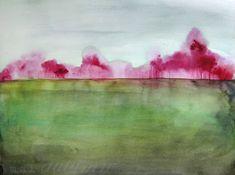 35 Off Sale  Landscape Painting  Grace  Wall Art  di MaiAutumn