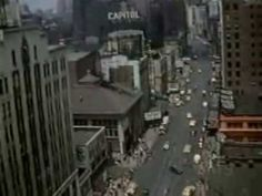 This is a short film by Don Kelly consisting of footage he shot (on 35mm color film) in the streets of Manhattan in 1943. We see lower Manhattan, Fifth Avenu...