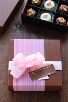 「2015バレンタインのラッピング」お菓子教室SweetRibbonが提案する簡単かわいいお菓子ラッピング | お菓子・パンのレシピや作り方【corecle*コレクル】