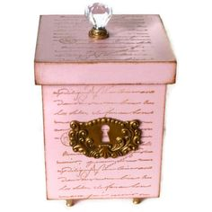 Decorative Wood Box Jewelry Storage Box by BlissfulBoxes on Etsy
