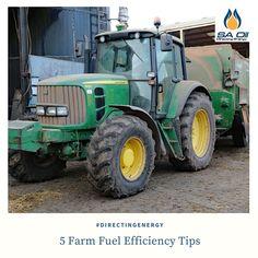Five Farm Fuel Efficiency Tips