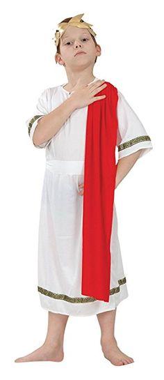 Costume Travestimento Imperatore Romano Completo-L