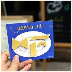 Pasta Sticky Note Set