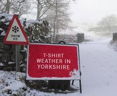 Breed 'em tough in Yorkshire South Yorkshire, Yorkshire England, Yorkshire Dales, Yorkshire Sayings, Funny Road Signs, Kingston Upon Hull, English Countryside, British Isles, Great Britain