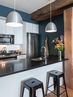 Gorgeous modern kitchen. #interior