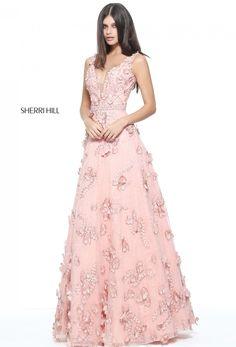 Sherri Hill pink prom 2017 ❥Pinterest: yarenak67