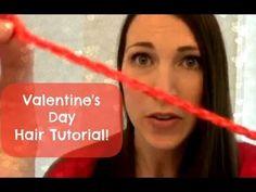 Valentine's Day Hair Tutorial