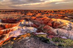 Painted Desert, Petrified Forest NP, AZ | by taschroeder