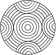 Pattern Geometriche Mandalas for printing and coloring 2 for children Mandala Design, Mandala Pattern, Mosaic Patterns, Pattern Art, Embroidery Patterns, Doodle Patterns, Dot Art Painting, Mandala Painting, Mandala Drawing