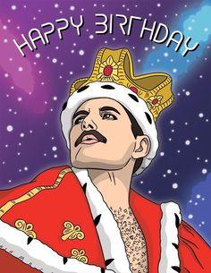 Happy Birthday Funny, Happy Birthday Messages, Birthday Greetings, Birthday Wishes, Freddie Mercury Quotes, Queen Freddie Mercury, Freddie Mercury Birthday, Freedie Mercury, Queen Birthday