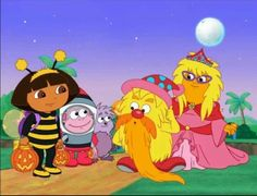 halloween parade is the episode of dora the explorer from season dora and boots help little monster find a costume for the halloween parade