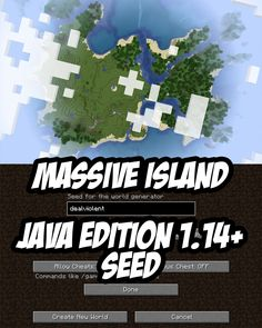 Spawn on a massive island in this Minecraft Seed for Java Edition. There's two shipwrecks, a large coral reef, tons of resources for survival, too. Minecraft Creations, Minecraft Projects, Minecraft Crafts, Minecraft Designs, Minecraft Ideas, Minecraft Banners, Minecraft City, Minecraft Construction, Minecraft Blueprints