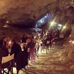 #TrainerTrack Tag 24: When did you have you last BBQ in a stalactite cave? Abendessen in der Tropfsteinhöhle geht es noch spektakulärer? #bbq #stalactitecave #cave #spectaculardinner #chrismulzer #kikidan #nlp #bestholiday