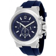 Michael Kors Dylan Silicone Chronograph Mens Watch MK8303