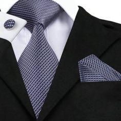 Silk Neck Tie Set Plaid Cuff Links Set Pocket Square - in length and in width Necktie - in length and in width Mens Gold Tie, Mens Silk Ties, Cufflink Set, Knit Tie, Pink Ties, Suit Vest, Tie Set, Tie And Pocket Square, Skinny Ties
