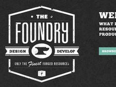 Foundry logo by AtiKuSDesign, via Flickr