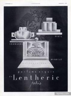 Lenthéric 1937 Shanghai, Dykil, Miracle,