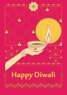 Free Illustration, Diwali Pictures, Diwali Cards, Festivals Of India, Diwali Decorations, Happy Diwali, Vector Design, Graphics, Lady