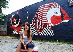 Fefe, women of street art. (LP)