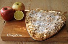 cuore di frolla sbriciolata Cordon Bleu, Apple Pie, San Valentino, Camembert Cheese, Food And Drink, Dairy, Bread, Desserts, Blog