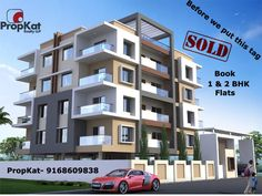 Best offer for 1 and 2 BHK flats . Book Today.  #PropKat-  9168609838