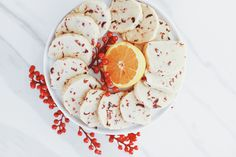 Delicious vegan recipes from Earth Balance. Have fun cooking & baking with principle. Plant-based, non-GMO, and trans fat-free. Plant-Made. Healthy Vegan Desserts, Vegan Dessert Recipes, Delicious Vegan Recipes, Vegan Sweets, Vegan Food, Healthy Eating, Dairy Free Cookies, Cookies Vegan, Cranberry Shortbread Cookies