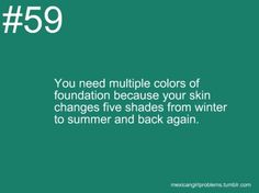 Mixed Girl Problems | My skin is lighter than my original tan skin in the winter then in the summer, my skin is darker. I hate summer sun.