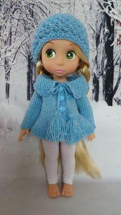 Doll's Cardigan & Hat / Disney Animator Doll Rapunzel