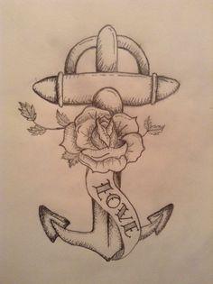 En framtidig tatovering for noen kanskje?, tegnet av: Oda H. Berg