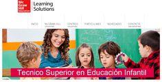 Ciclo Formativo Técnico Superior en #Educación #Infantil. Cursos Homologados de Formación Profesional Online #educacion #mheducation #Formación #Profesional