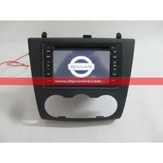 For NISSAN Altima 2007~2012 - Car Radio Stereo DVD Player GPS Navigation System [2D-NS-K727] - US$385.00 : diycardvd.com