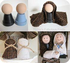 Make Your Own Childrens' Nativity Set! 3of3 photos. - Design Dazzle