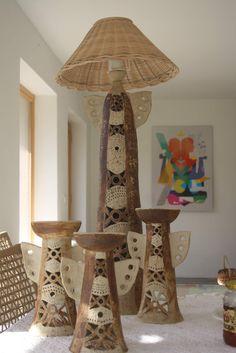 klikni pro další 58/101 Ceramic Light, Ceramic Bowls, Ceramic Pottery, Ceramic Art, Candle Stand, Candle Holders, Ceramic Workshop, Hand Built Pottery, Pottery Sculpture