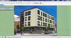 Modelando un edificio 3D