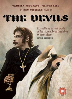 'The Devils', Directed by: Ken Russel - Oliver Reed, Vanessa Redgrave. Oliver Reed, Vanessa Redgrave, Kung Fu, Science Fiction, Ken Russell, Cinema Posters, Film Posters, Movie Covers, Sundance Film