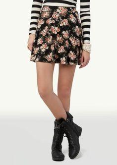 Rose Skater Skirt | Skirts | rue21